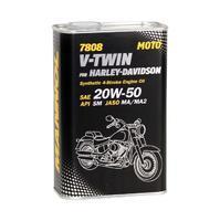 MANNOL 7808 V-TWIN for HARLEY DAVIDSON 20W-50 1L